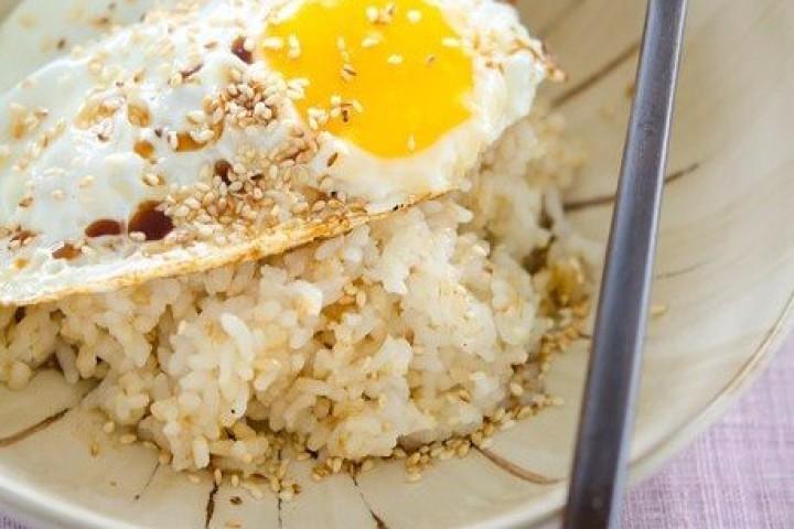 Рис с яйцом — Talgyal Bab