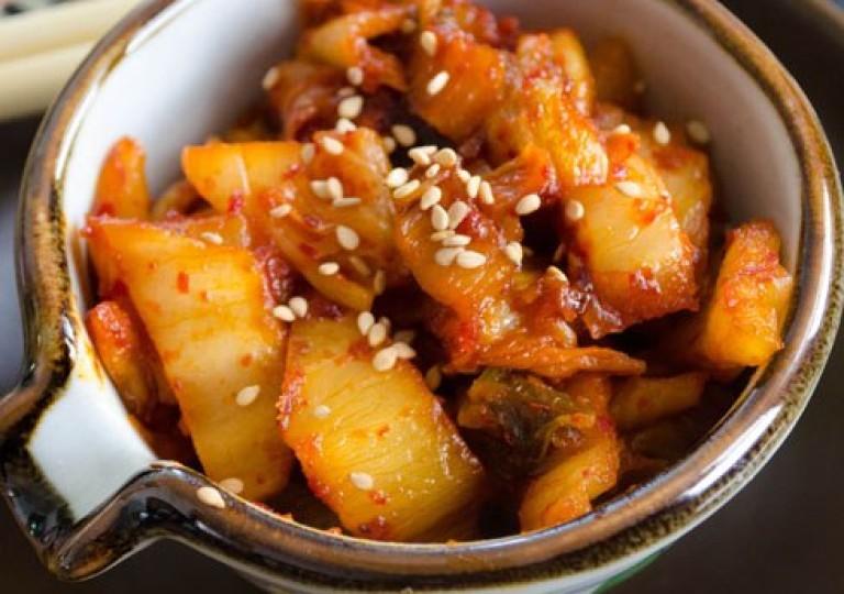 Кимчи-фри (Жареный кимчи) — Bokk-Eum Kimchi