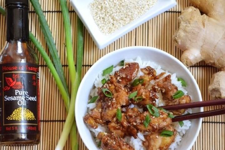 Курица в кунжуте — Chamkkae Chikin