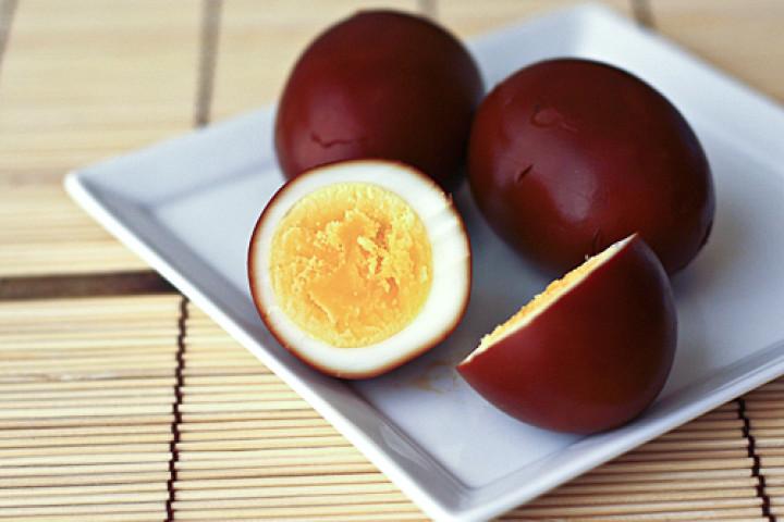 Яйца в соевом соусе по-японски