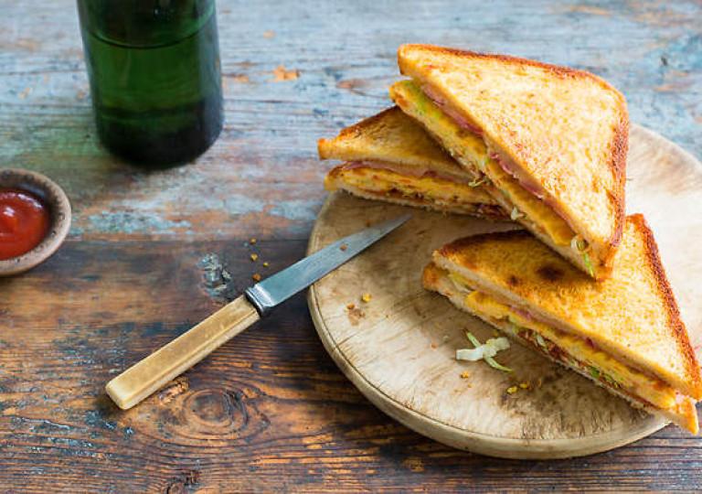 Корейский яичный тост — Gaeran To su tu