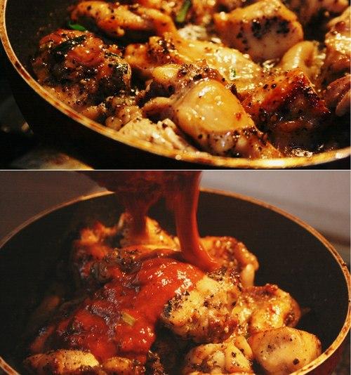 рецепт корейской кухни из курицы