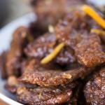 хрустящая говядина по-китайски