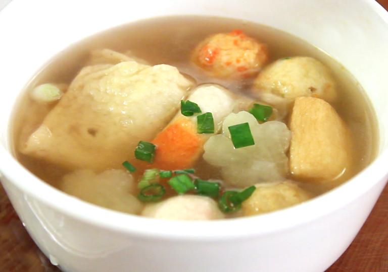 Суп из рыбных палочек